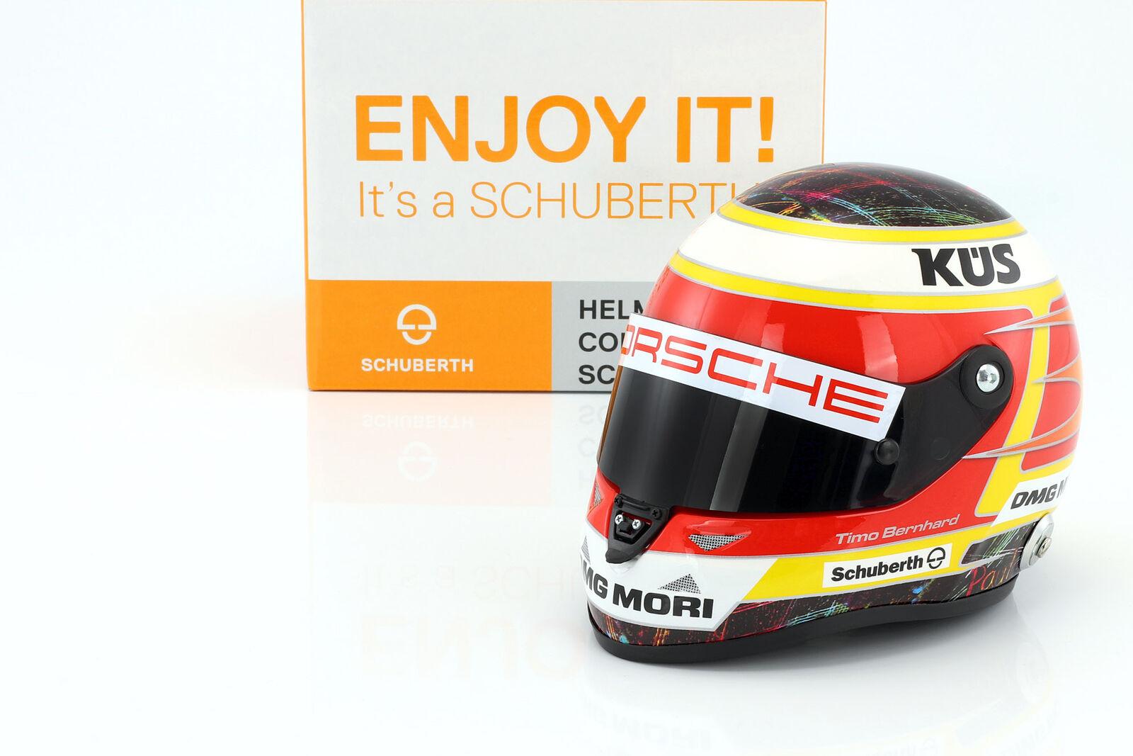 Timo Bernhard Porsche 919 híbrido campeón de WEC 2015 casco 1  2 schubers