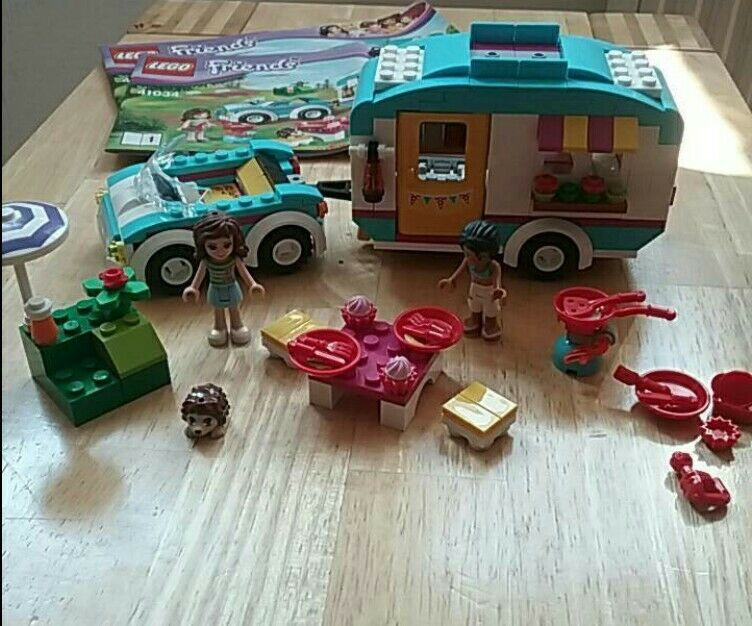 Lego 41034 Lego Friends Wohnwagen Ausflug  neuwertig