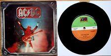 """AC/DC HIGH VOLTAGE b/w LIVE WIRE 7"""" VINYL 45  (HM 1)"""