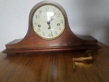 Vintage 80s Howard Miller Mantle Clock Westminster Chime
