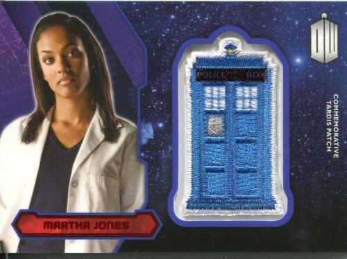 ##//25 Red Doctor Who 2015 Tardis Patch Card P-21 Martha Jones