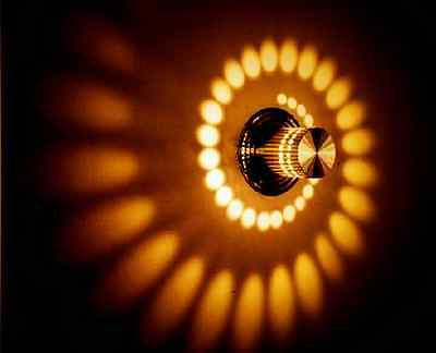 Wandleuchte LED Design Wandlampe Flurlampe Deckenleuchte,warm gelb