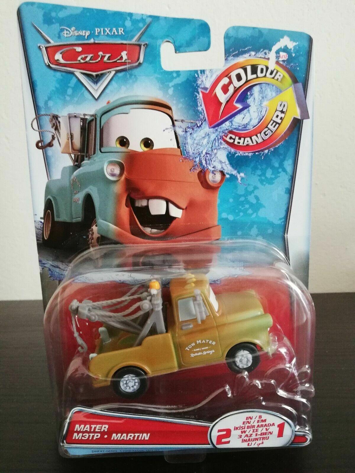 Pixar Disney Cars 1:55 Scale Color Changers Mater