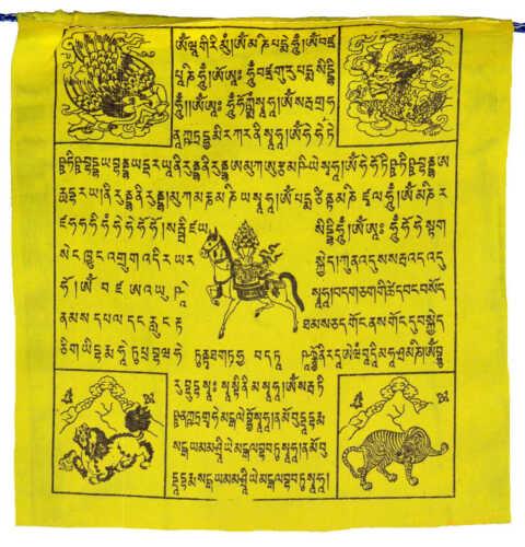 5er Set Original Tibetan Prayer Flags Nepal Tibetische Gebetsfahnen Länge 5,5m