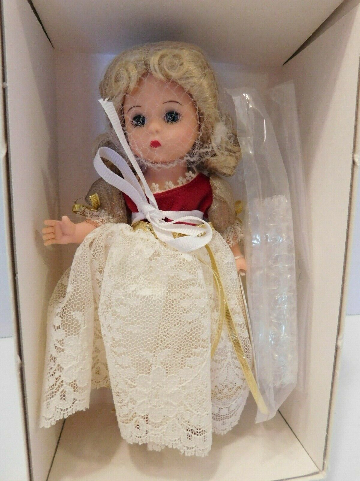 MADAME ALEXANDER DOLL  MY OWN BELL  LENOX EXCLUSIVE  27475 PRISTINENRFB