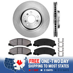 2008 2009 Buick LaCrosse Super 5.3L brake Rotors and and Free Pads Front