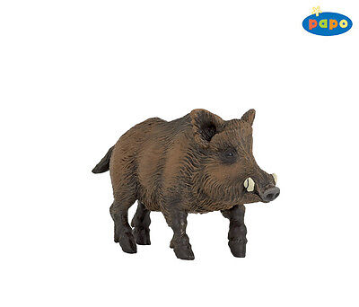 Toys & Hobbies Hard-Working Wild Boar 9,5 Cm Wild Animals Papo 53011 Price Remains Stable Action Figures