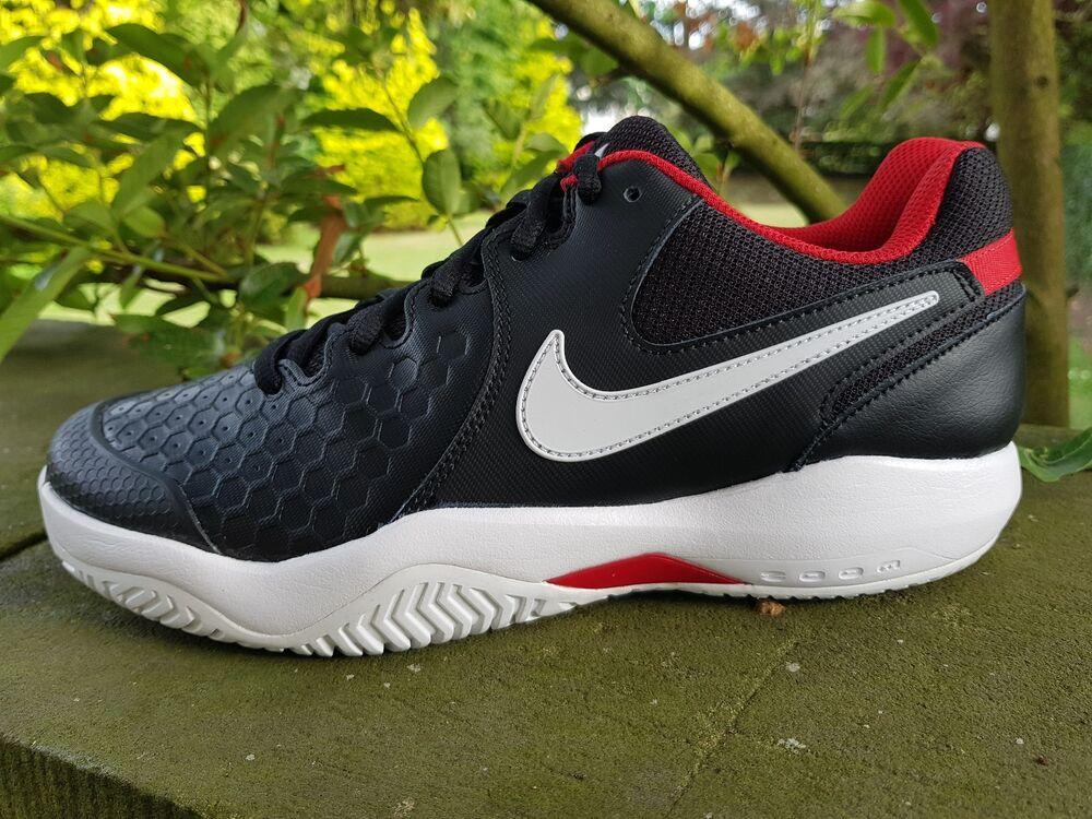 Nike Air Zoom Résistance Sport Entièrement Tennis Confortable Baskets Noir Entièrement Sport neuf dans sa boîte UK 6 - 12- 2a2e2b
