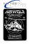 Airwolf Parody 1980s 80s Tv Inspired METAL SIGN PLAQUE Man CAVE Poster Retro