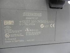 SIEMENS, 6ES7-331-7KB02-0AB0, MODULE FOR AN S-7