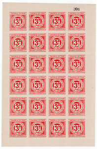I-B-Cavan-amp-Leitrim-Railway-Letter-Stamp-3d-complete-sheet