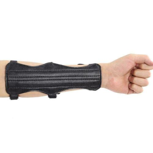 Archery Arm Guard Traditional Cow Leather Bracer For Longbow Recurve /& Bow L7C3