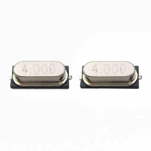 4.000 MHZ CA NEW 100PCS NEW Crystal Oscillator HC-49S SMD 4MHz