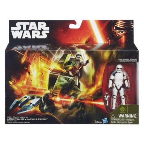 Hasbro b3717 Star Wars e7 Assault Walker véhicule Sergent un Stormtrooper personnage