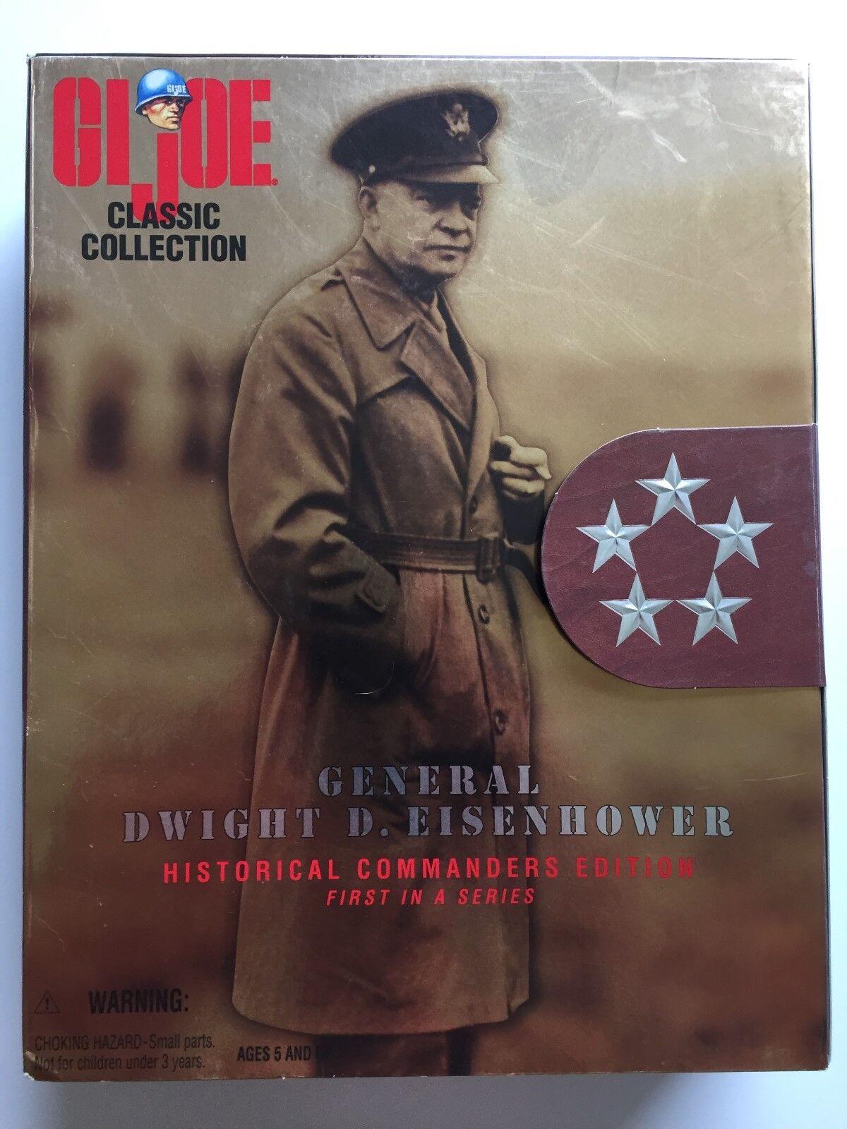 Hasbro GI Joe Classic Collection General Dwight D. Eisenhower; NIB