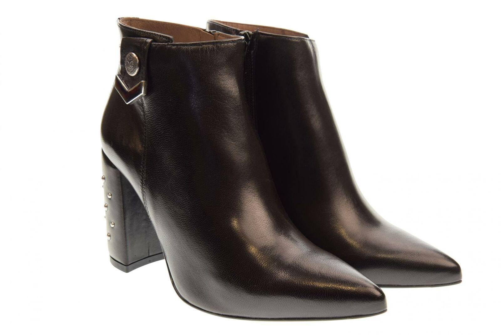 Spedizione gratuita al 100% Nero Giardini scarpe scarpe scarpe donna tronchetti con tacco A806880DE 100 A18  promozioni di squadra