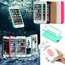 Waterproof Shockproof Hybrid Rubber TPU Phone Case Cover For iPhone Samsung