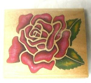 Roses in Vase  Stamps Used Rubber stamp View all photos