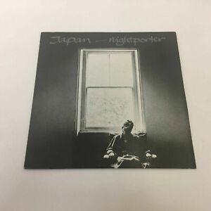 Japan-Nightporter-1982-VS554-7-034-Vinyl-Pop-034-Virgin-034