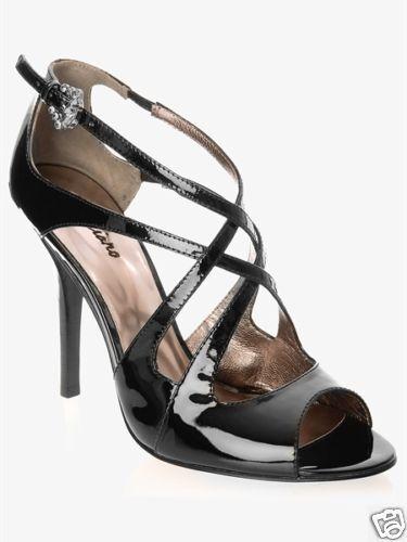 NIB MARCIANO GUESS CHIARA CRISSCROSS STILETTO Schuhe BLACK SIZE 9 10 ONLY1 EACH