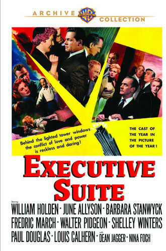 Executive Suite [New DVD] Manufactured On Demand, Full Frame, Dolby, Mono Soun