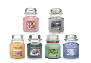 NEW-Yankee-Candle-Medium-Jars-Scented-Candles-25-OFF-RRP
