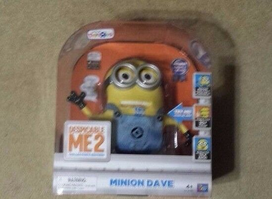 Despicable Me 2 Collector's Edition Talking Minion Dave 9  ToysRUs - Nuovo