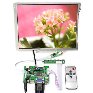 HDMI DVI VGA LCD Controller Board 10.4 in 800x600 LED Backlight LCD Screen