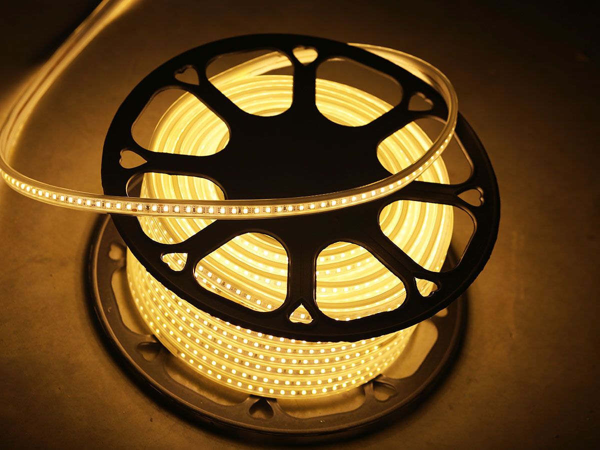 15m 1800x 2835 warmweiss LEDs impermeable LED strip patrulla barra regulable