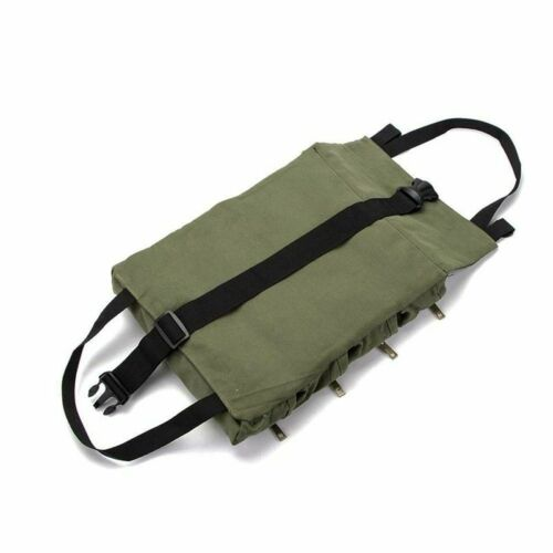 Multi-Purpose Tool Roll Up Bag Wrench Pouch Storage Organizer Canvas Holder Bags