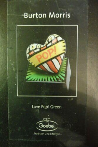 Neu,OVP Burton Morris -3x Goebel Red Set Love Pop Blue Green