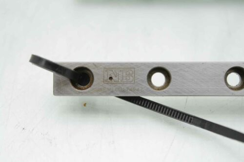 """NB 21.6/"""" Linear Guides w// 4x NB 21mm Blocks SEBS9B"""