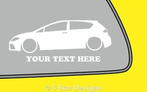 2x-LOW-YOUR-TEXT-mk2-Seat-Leon-FRTFSITDi-outline-sticker-311