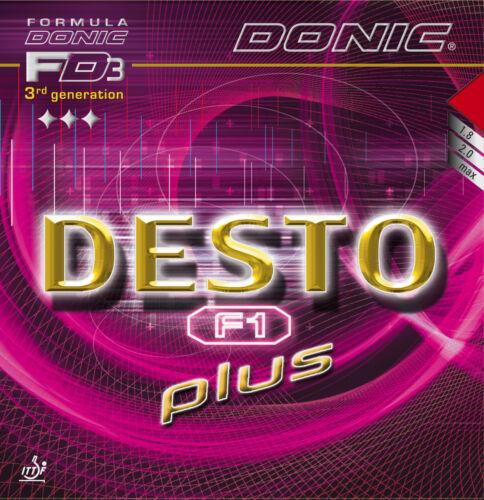 DONIC Desto F1 Plus 2,0mm schwarz NEU//OVP