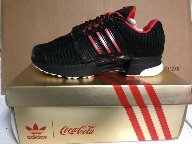 best service aed3a d2a3e ADIDAS CLIMA COOL 1 LIMITED EDITION COCA COLA BLACK RED MEN NEW IN BOX LE  BA8612