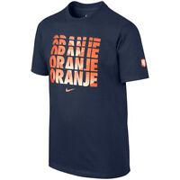 Nike Holland Netherlands World Cup Wc 2014 Soccer Reflection Fan Shirt Navy