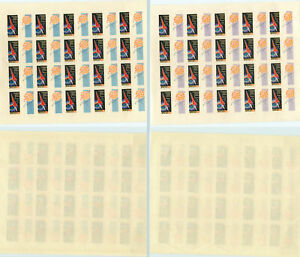 Russia-USSR-1962-SC-2578-MNH-imperf-Full-Sheet-of-20-rtb1632