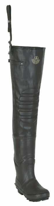 Proline 2031-9 Creek Insulated Cleated Rubber Hip Boot Size 9 16017