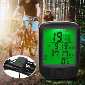 Bike-Wired-Mileage-Speedometer-Table-Luminous-Waterproof-Bicycle-Computer
