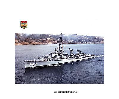 USS Guam LPH 9 Personalized Canvas Ship Photo Print Navy Veteran Gift