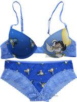 Aladdin Jasmine Kissing Carpet Panties Hipster Hot Pants Intimates Bra Underwear