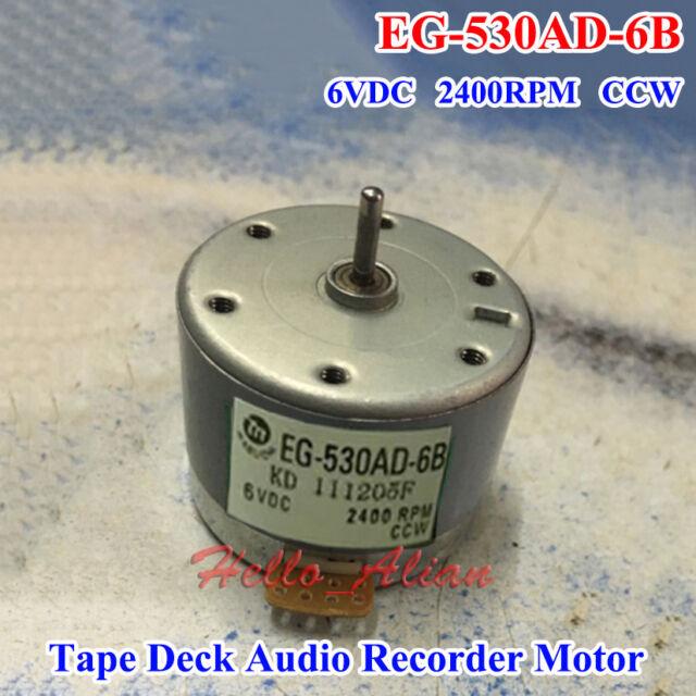 MABUCHI EG-500YD-2B Motor DC12V CCW Recorder Audio Motor Tape Deck Capstan Motor