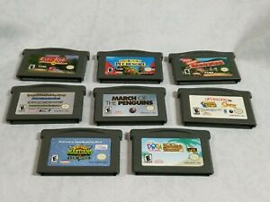 Lot of 8 Gameboy Advance Games Game Boy ADV Nintendo GBA