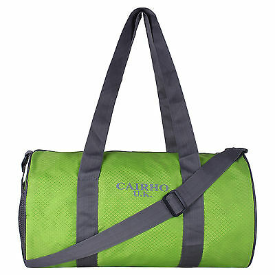 Cairho Green Polyester Gym Bags (15 Liters)