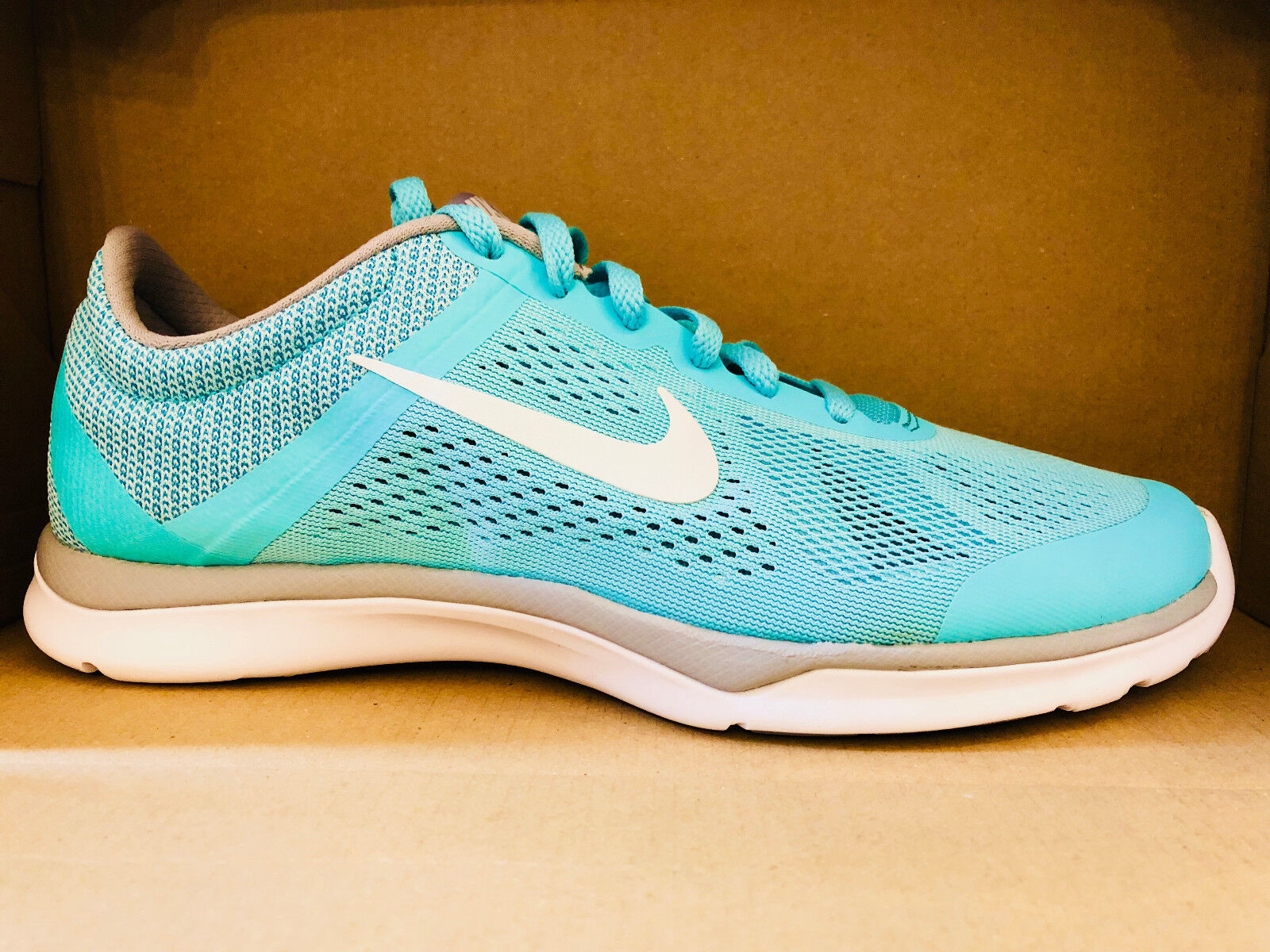 NIKE WOMEN'S IN-SEASON TR 5 SHOES hyper turquoise white grey 807333 301 Great discount