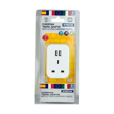Single S2USBPTEURO1PK3 Status Top Quality Product 987 Euro Adaptor With Usb