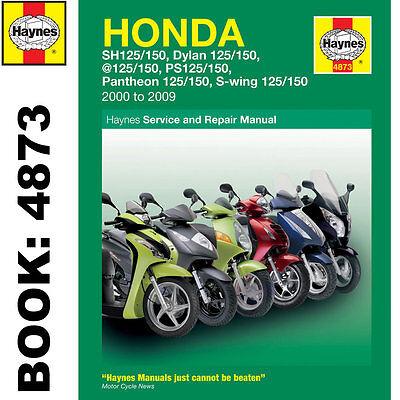 Honda FES125 NES125 PES125 SE125 SH125 Scooters 2000-09 Haynes Workshop Manual