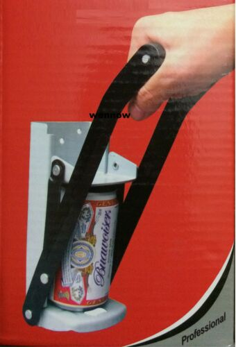 12oz Aluminum Can Crusher Bottle Opener oz Soda Beer Wall Mount