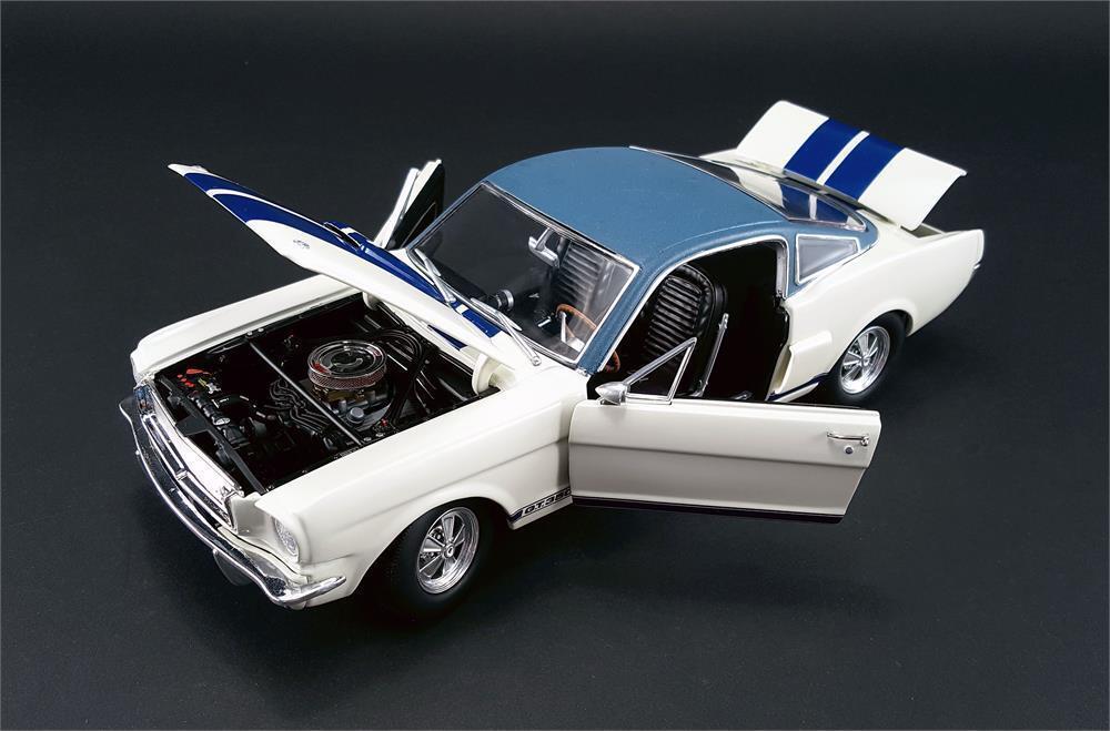 1966 shelby 350 prototyp ist weiß   blau  - auto ford - top 18 nein
