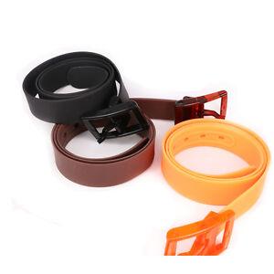 Boucle-en-Plastique-CEINTURE-CUMMERBUND-Casual-ceintures-silicone-ceinture-ceinture-Ceintures